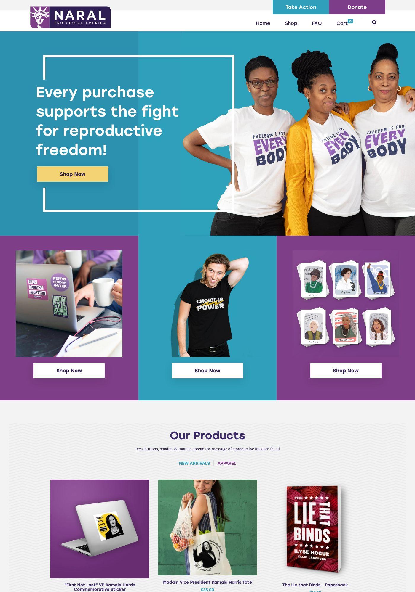 shop.prochoiceamerica.org